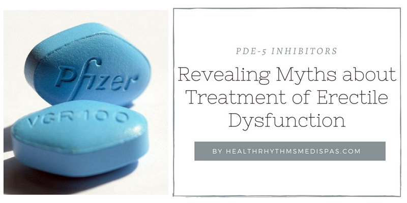 myths about erectile dysfunction treatment